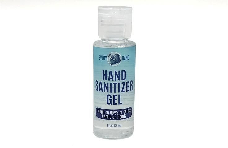 2 Oz Gel Hand Sanitizer with Flip Cap - Every Hand™
