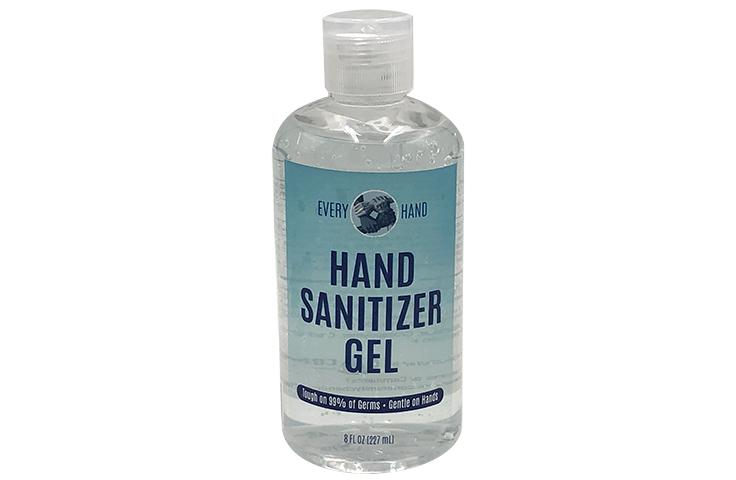 8 oz Gel Hand Sanitizer with Flip Cap - 4 Pack - Every Hand™