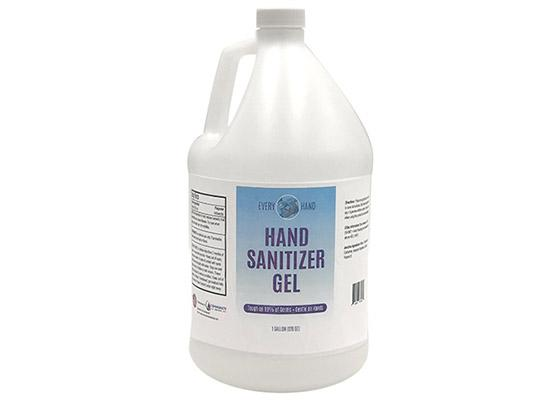 1 Gallon of Gel Hand Sanitizer - Every Hand