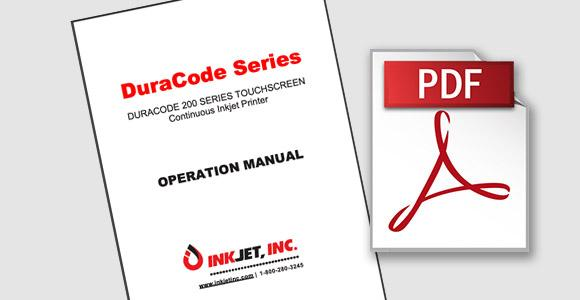 DuraCode Touchscreen Operation Manual