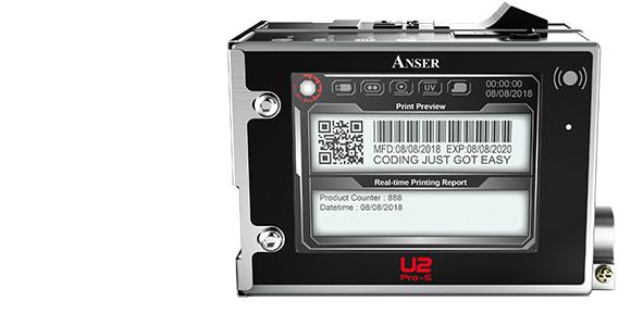 Anser U2 Pro-S Thermal Inkjet Printer